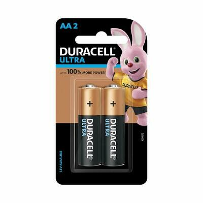 Duracell Ultra Alkaline AA, 2 Batteries