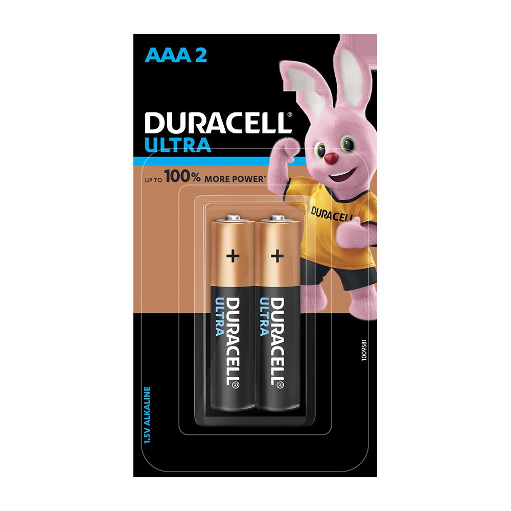 Duracell Ultra AAA, 2 Batteries
