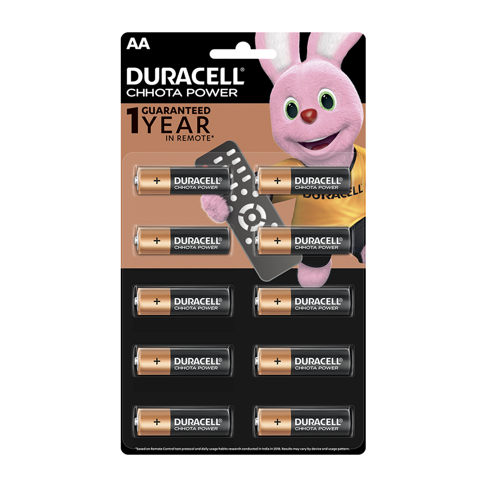 Duracell Chhota Power AA, 10 Batteries