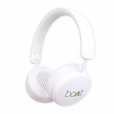 boAt Rockerz 440 Wireless Bluetooth Headset, White