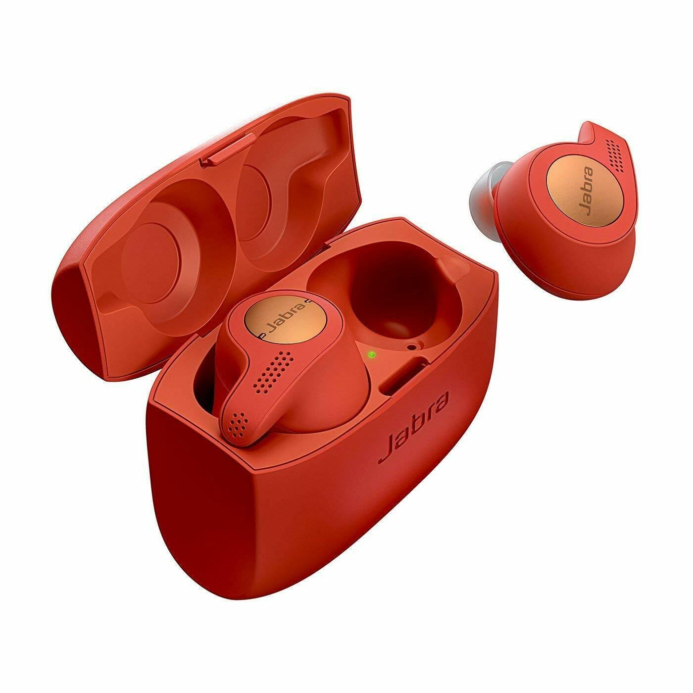 Jabra Elite Active 65t Wireless Bluetooth, Red