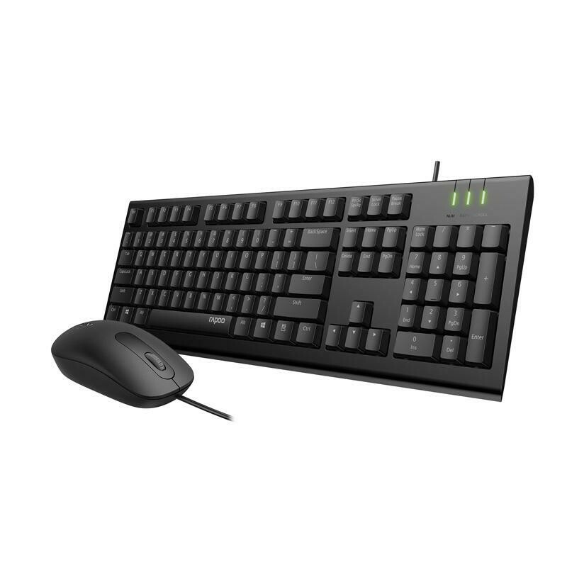 Rapoo X120Pro Keyboard Mouse