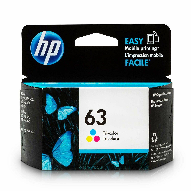 HP 63 Ink Cartridge, Color