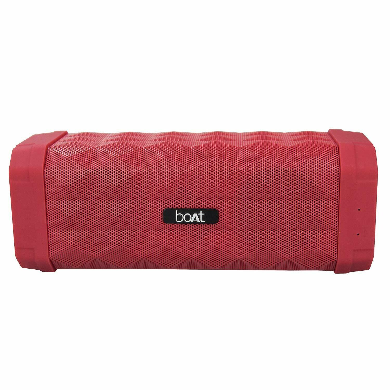 boAt Stone 650 Wireless Bluetooth Speaker, Red
