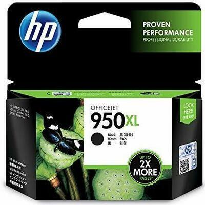 HP 950XL Ink Cartridge, Black