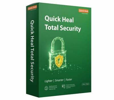 5 User, 3 Year, Quick Heal Total Security