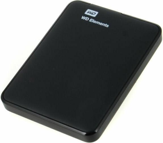 WD 500GB Elements portable External Hard Drive