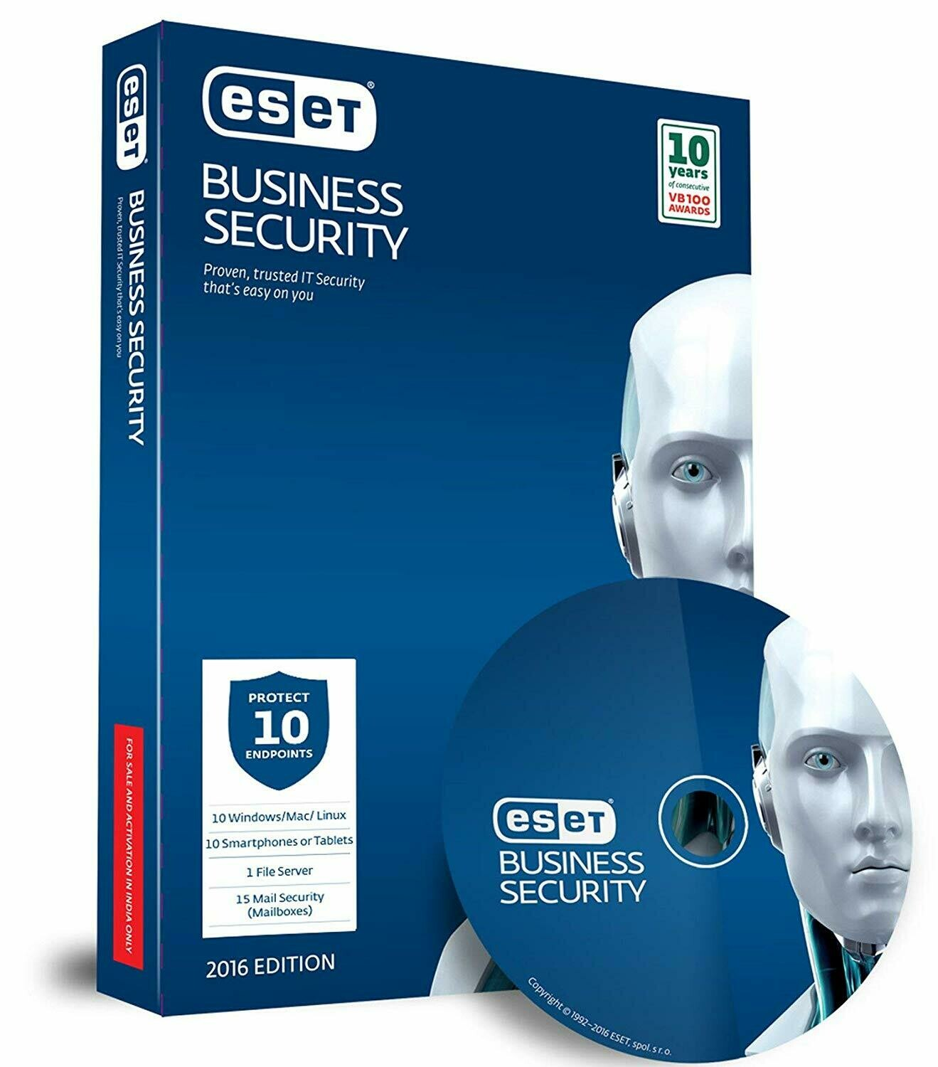 10 User, 1 Year, ESET Business Security