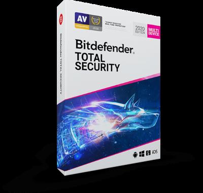 1 User, 1 Year, BitDefender Total Security