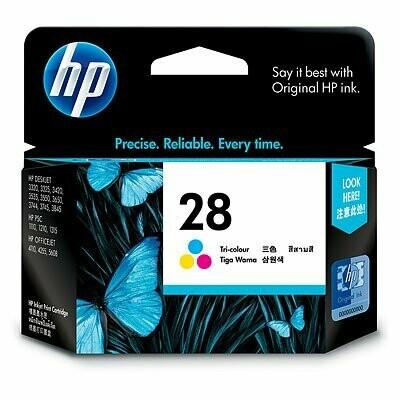 HP 28 Ink Cartridge, Tri Color