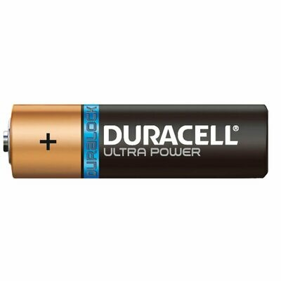 Duracell Ultra AA, 1 Battery, 1.5V Alkaline