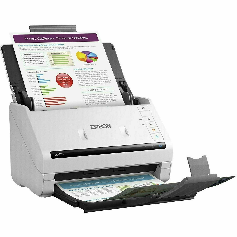 Epson WorkForce DS-770 Color Document Scanner