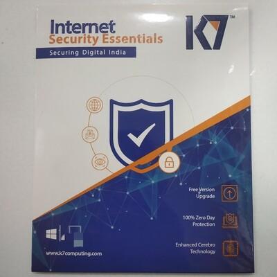 1 User, 1 Year, K7 Internet Security