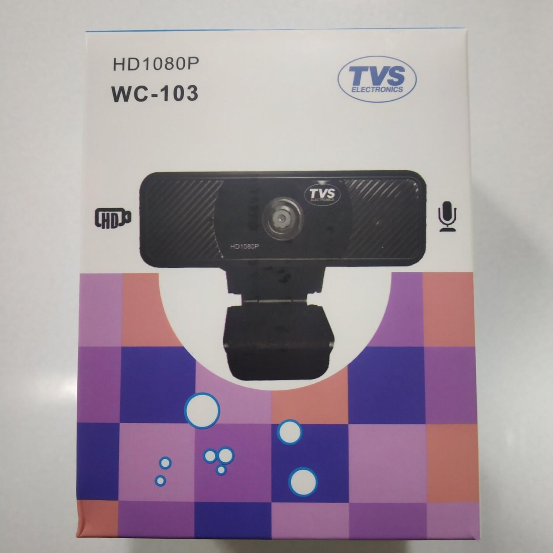 TVS WC-103 Webcam, 1080pixel