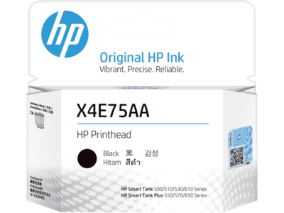 HP X4E75A Black Inktank Printhead