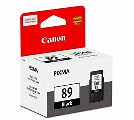 Canon 89 Ink Cartridge, Black