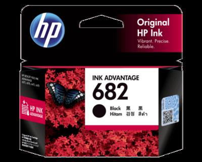 HP 682 Ink Cartridge, Black