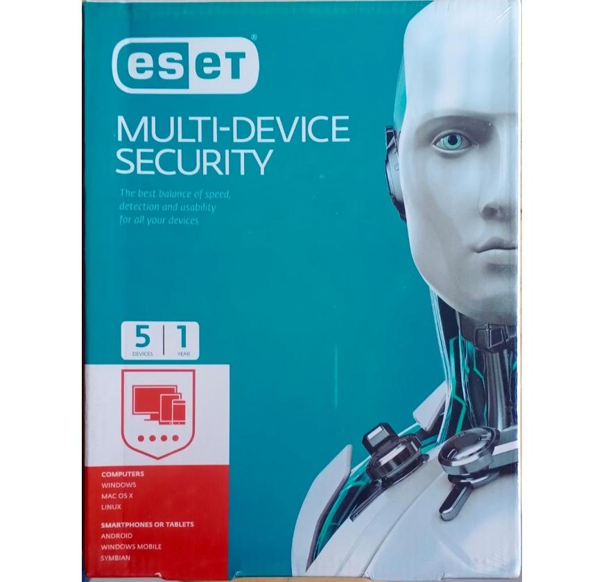 5 User, 1 Year, Eset Smart Multi Device Security