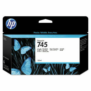 HP 745 Ink Cartridge,Photo Black, 130ml