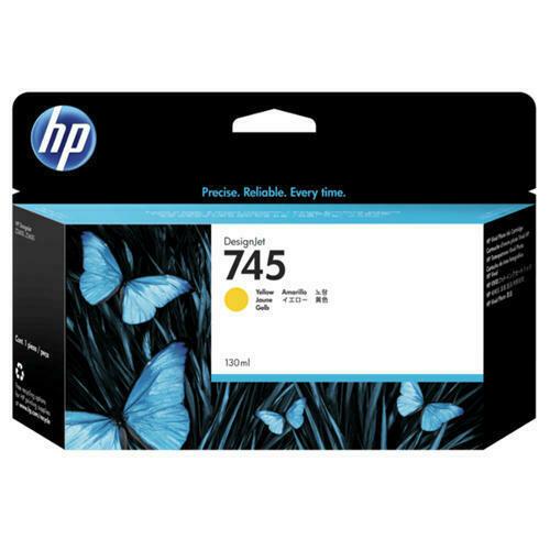 HP 745 Ink Cartridge,Yellow, 130ml