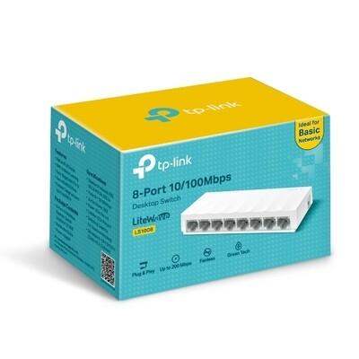 TP-Link LS1008 8 Ports 10/100Mbps Desktop Switch