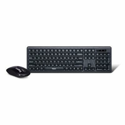 Finger's Exquisite Wireless Combo Multimedia Slim Keyboard and Mouse