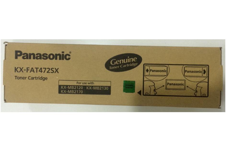 Panasonic KX-FAT472 SX Toner Cartridge, Black