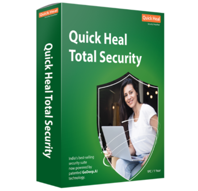 1 User, 1 Year, Quick Heal Total Security