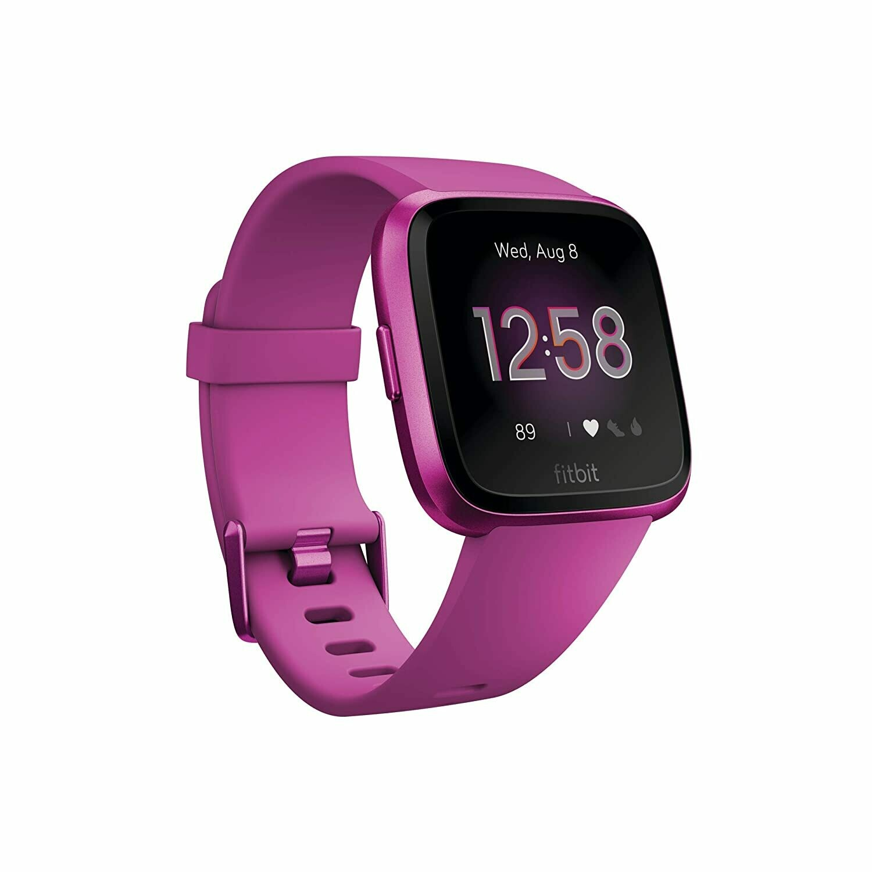 Fitbit Versa Lite Edition Smart Watch (Mulberry)