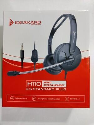 Ideakard H110 Stereo Headset