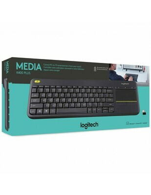 Logitech K400 Plus Wireless Touch Pad keyboard