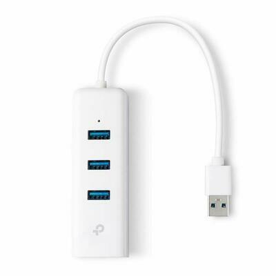 TP-Link UE330 USB Hub & Gigabit Ethernet Adapter