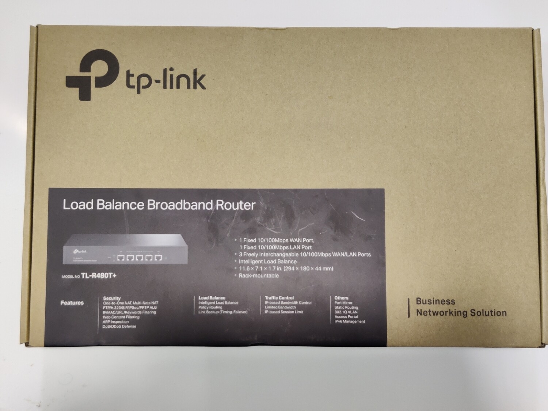 TP-Link TL-R480T+ Load Balance Broadband Router