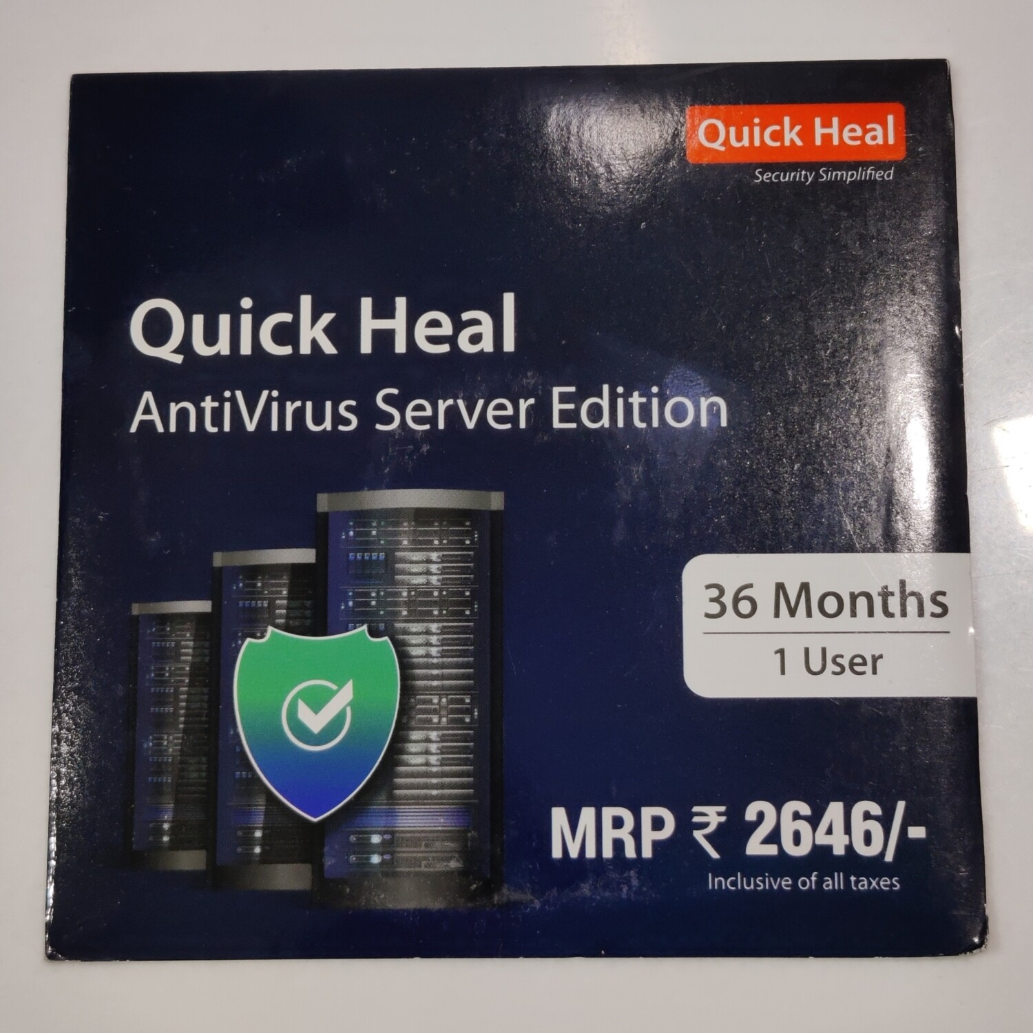 Upgrade Pack, 1pc, 3year, Quick Heal Server Edition