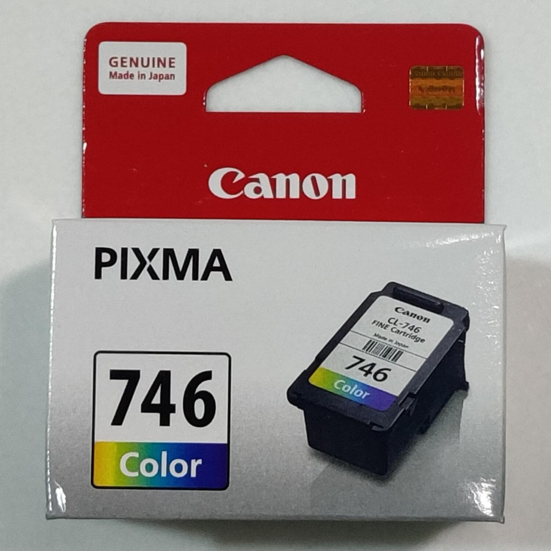 Canon 746 Ink Cartridge, Tri Color, (Medium)