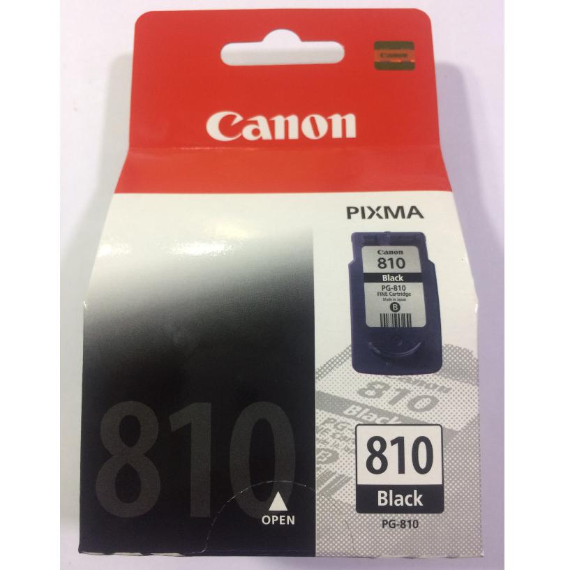 Canon 810 Ink Cartridge, Black, (Medium)