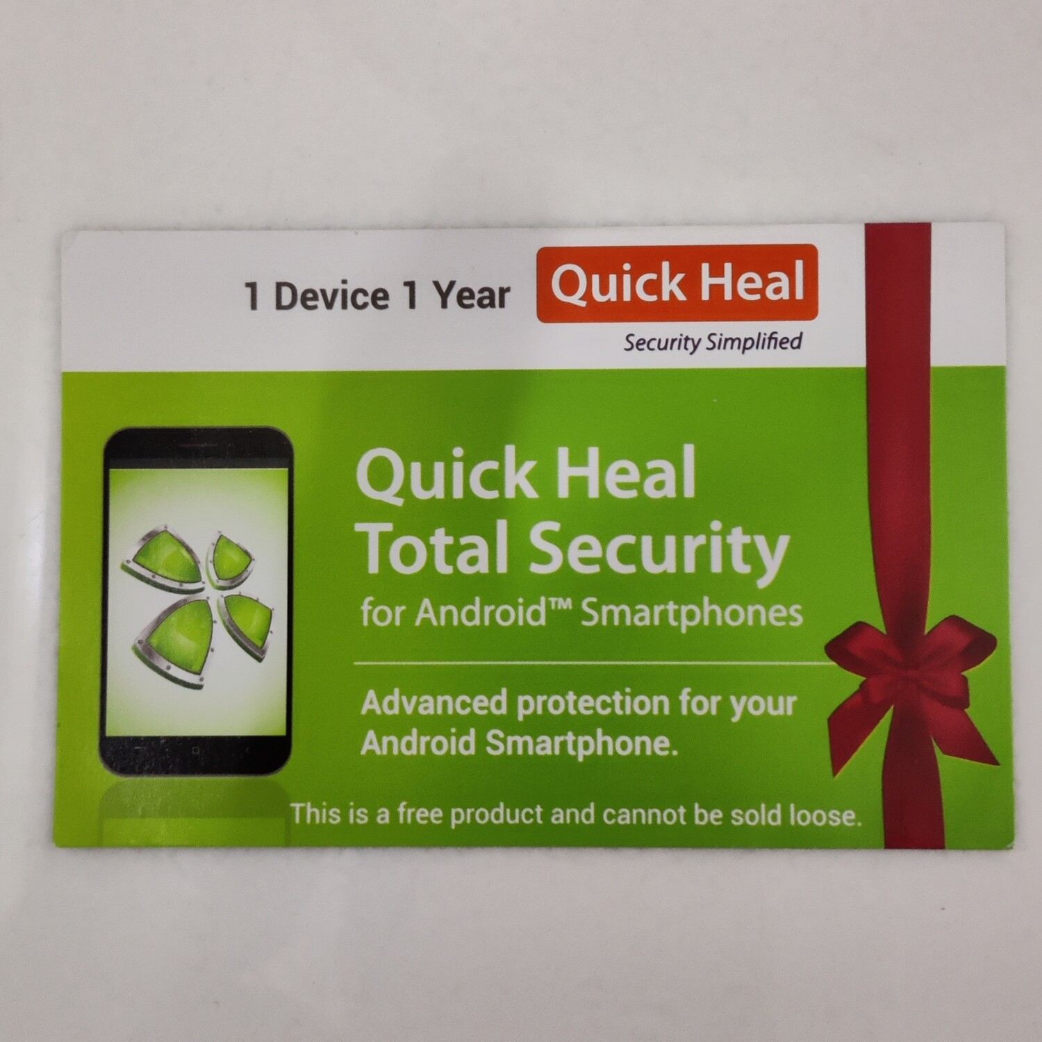 1 Device, 1 Year, Quick Heal Mobile Security, For Android