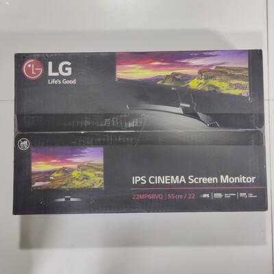 LG 22MP68VQ IPS Cinema Screen Monitor, 55.88cm (22)