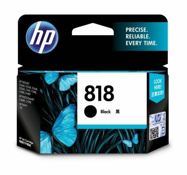 HP 818 Ink Cartridge, Black, CC640ZZ