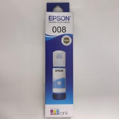 Epson 008 Ink Bottle, Cyan, 70ml