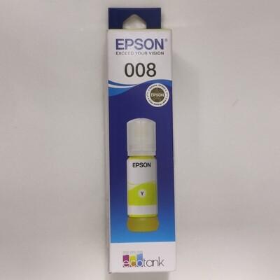 Epson 008 Ink Bottle, Yellow, 70ml