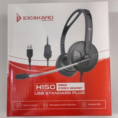 Ideakard H150 USB Computer Headset