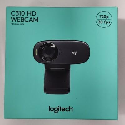 Logitech C310 HD Webcam, 720p/30fps