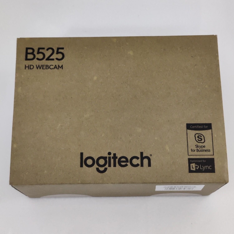 Logitech B525 HD Webcam, 720p/30fps