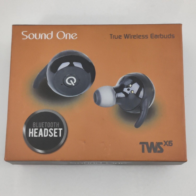 Sound One X6 True Wireless Bluetooth Headset