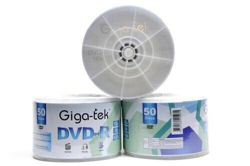 GIGA-TEK DVD-R