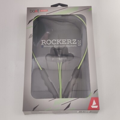 Boat Rockerz 255 Bluetooth Headset, Neon