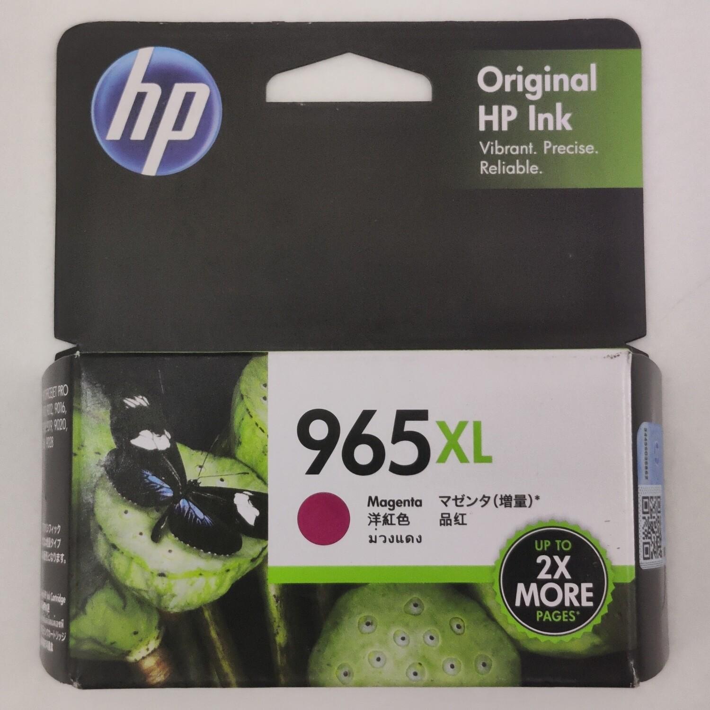 HP 965XL Ink Cartridge, Magenta, 3JA82AA