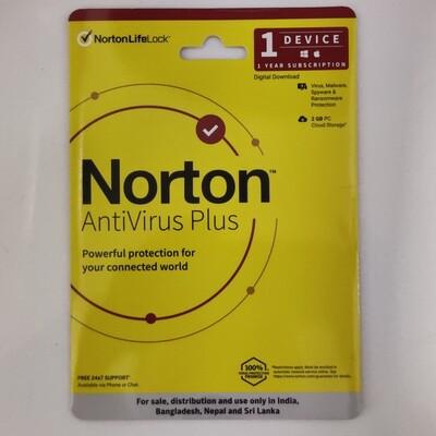 Norton Antivirus Plus, 1 Device, 12 Months