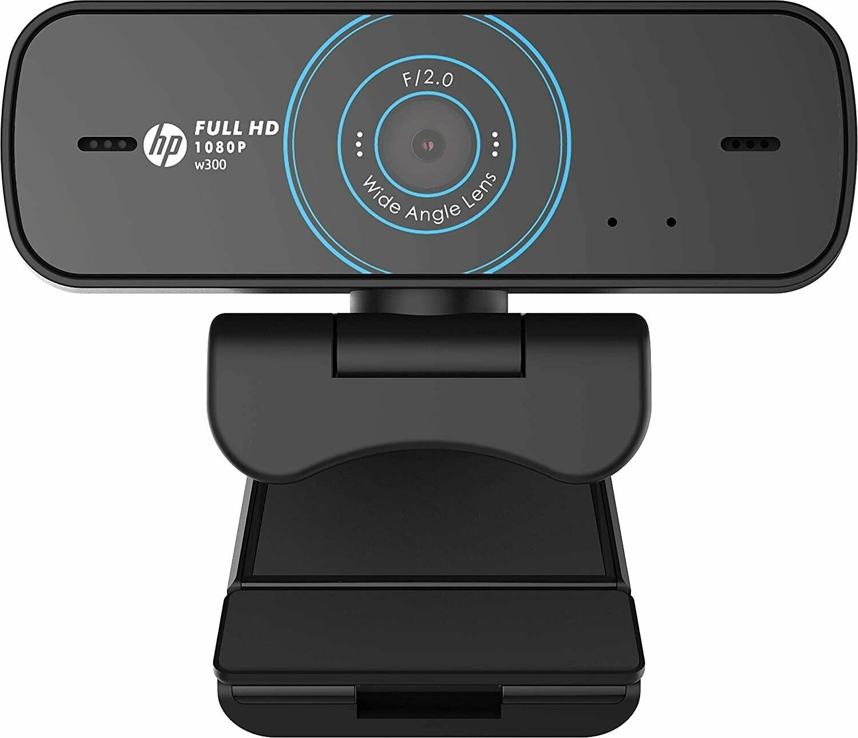 HP w300 Webcam, 1080p/30 Fps FHD